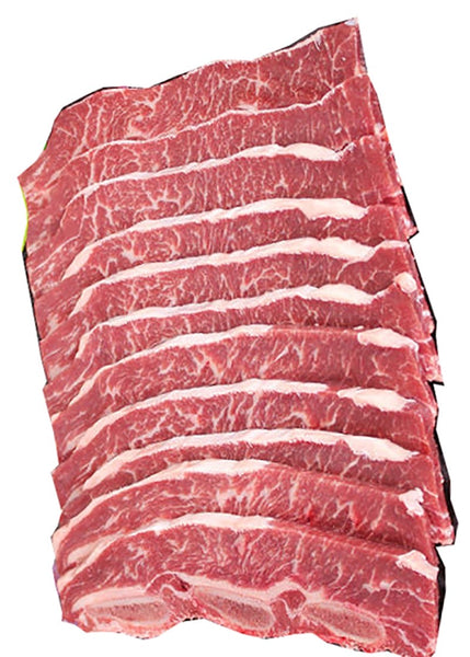 Angus Beef Short Ribs (LA Cut/Korean BBQ style), 1kg, price/pack, frozen