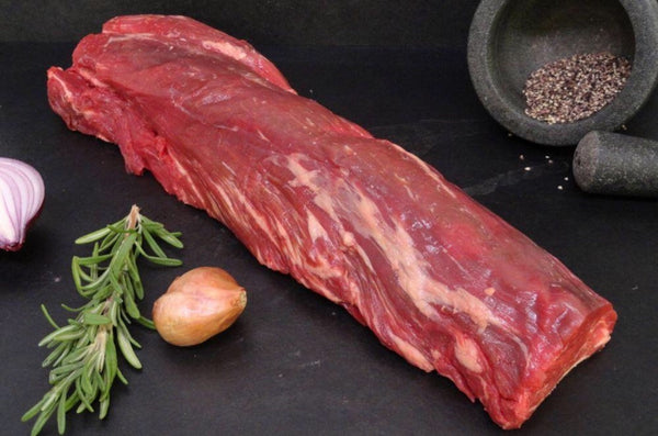 Frozen Angus Beef Eye Fillet Tenderloin Whole Roast, 2540g portion, price/whole portion