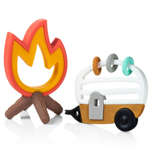OUT OF STOCK - Little Camper Teether Toy