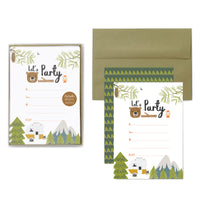 Little Camper Party Invitations