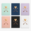 Heart and Arrows Art Print