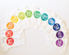 Rainbow Spectrum Monthly Stickers