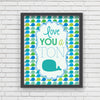 Love You A Ton Art Print