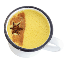 Make a Soothing Golden Milk or Chai with Pranayums