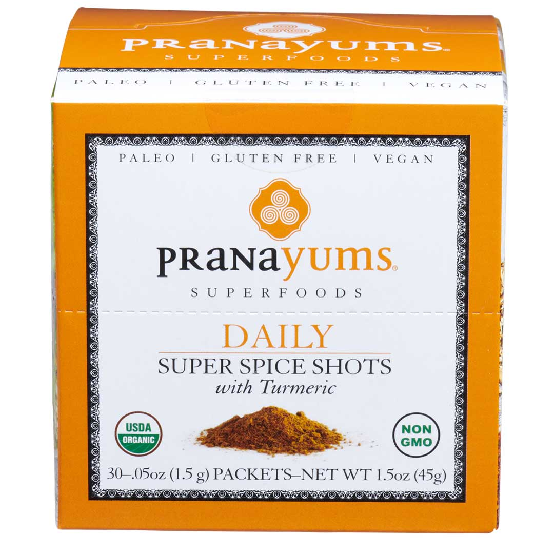 Pranayums Organic 30 Day Supply  (Save $10 over Starter Pack cost) - Pranayums