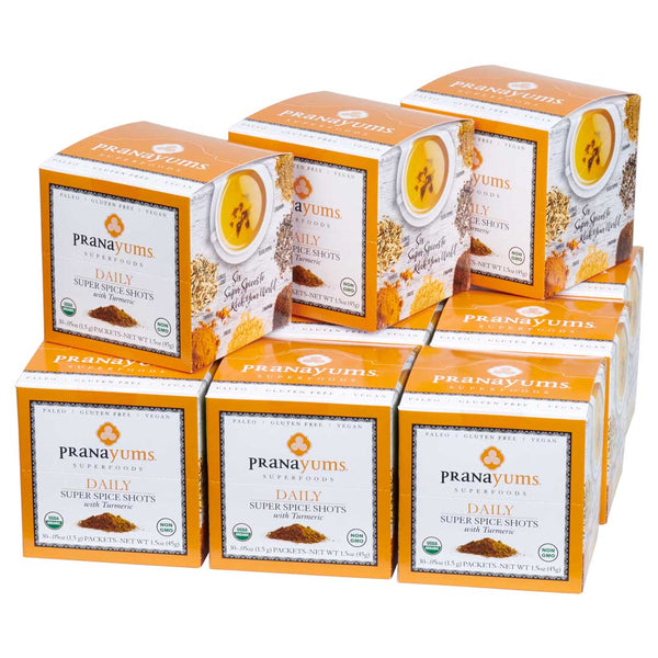 Pranayums Monthly Subscription (Save $14 over Starter Pack cost) - Pranayums