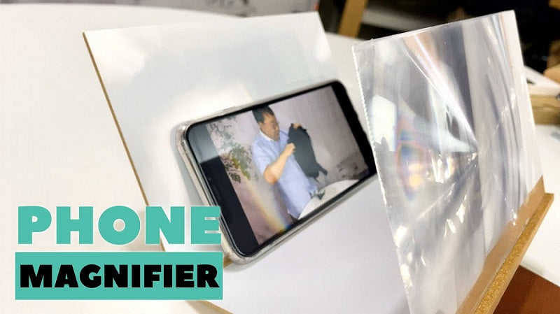 Mobile Phone Screen Magnifier