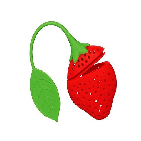 5pcs Strawberry Tea Strainer
