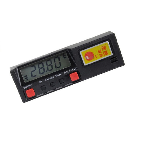 360degree digital inclinometer protractor
