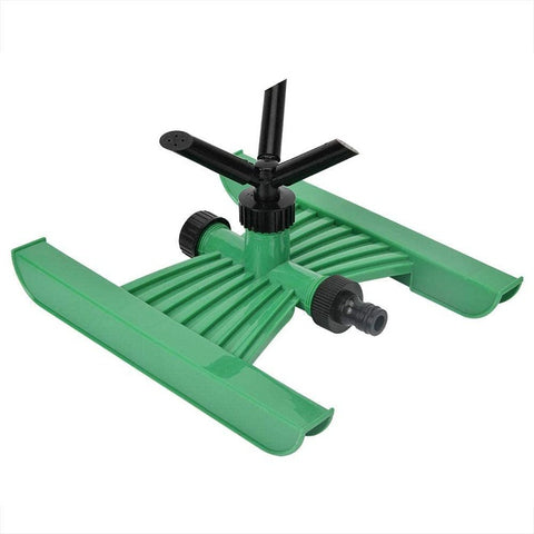 3 Nozzles Plastic Automatic Lawn Garden Water Sprinkler