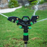 4-op-outlet Automatic Garden Lawn Water Sprinklers(80feet Diameter Coverage)