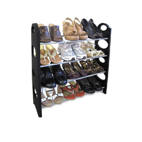 12pair Stackable Shoe Rack
