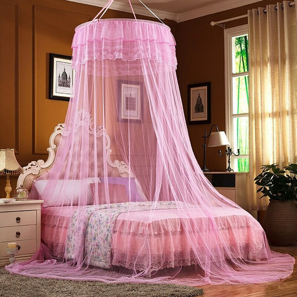 Princess Bed Canopy Mosquito Net(6x6 Feet)