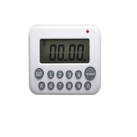 12 Key Digital LCD Kitchen Cooking/Sport CountDown Timer Clock