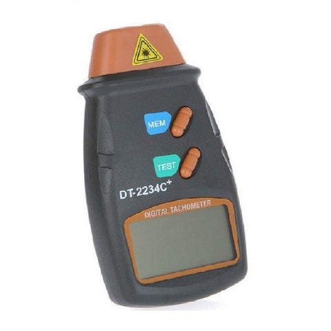 Digital Laser Non-Contact Tachometer/ RPM  Motor Speed Gauge