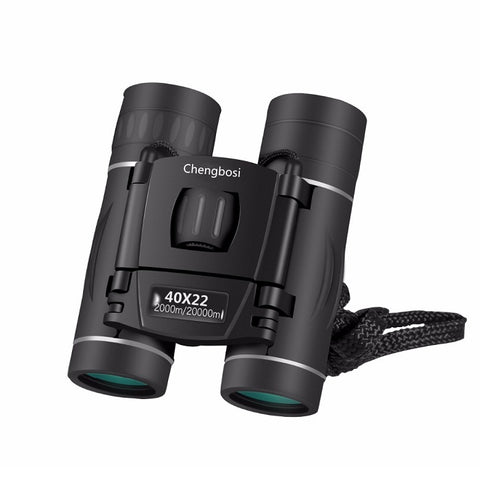 40x22 HD Compact Zoom Long Range Folding Binoculars