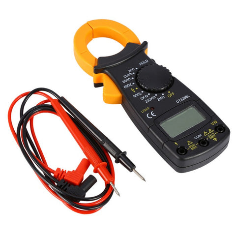 Handheld AC/DC Digital Clamp Meter DT3266L