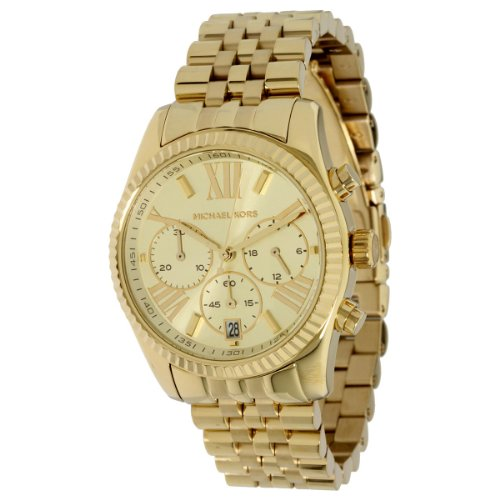 Micheal Kors Chronograph Gold Chain Men's Watch