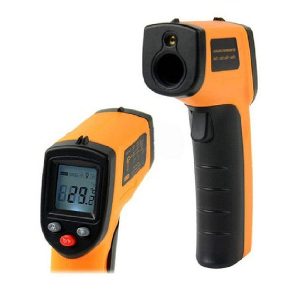 Infrared laser digital thermometer