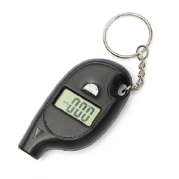 Digital car tyre pressure gauge