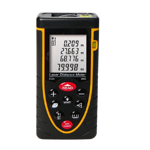 Digital Laser Distance Meter Range Finder(80Meter)