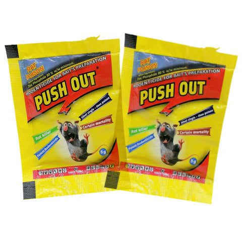 Push Out Rat Poison/Rodenticide(10pcs)