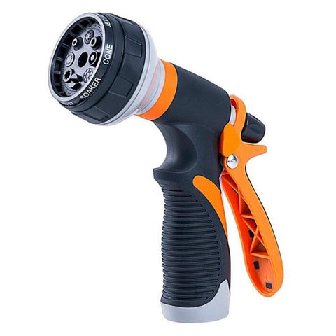 Plastic Heavy Duty Nozzle With 7 Adjustable Watering Patterns