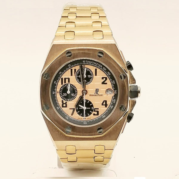 Audemars Piguet Royal Oak Rose Gold Chronograph Watch