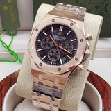 Audemars Piguet Royal Oak Rose Gold Black Dial