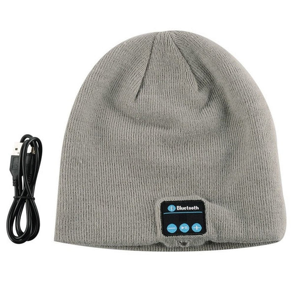 BLUETOOTH SMART BEANIE CAP HEADPHONE