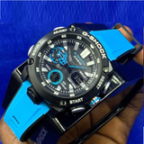 Casio Men's G-Shock Carbon Core Watch(Blue)