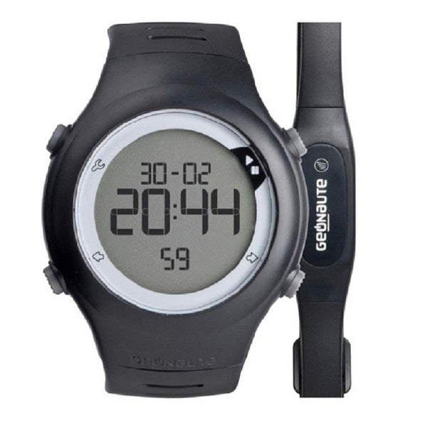 Heart Rate Monitor Pedometer With Chest Strap