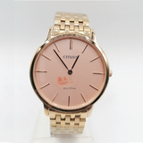 Citizen Eco Drive Flat Gold Ladies And Gents Watch