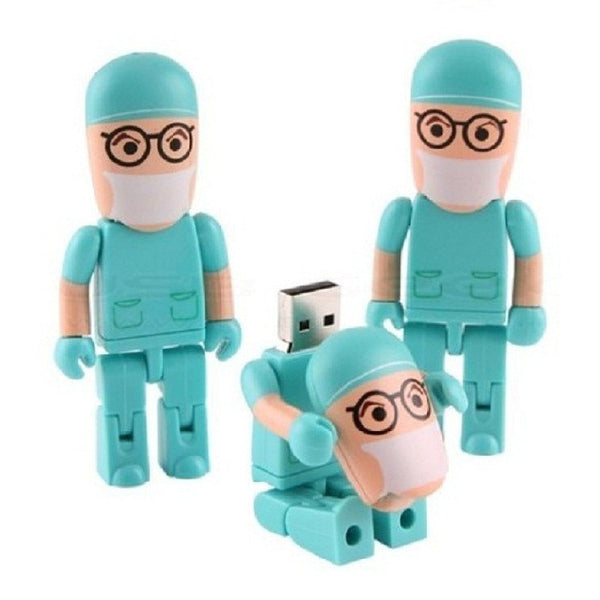 Doctor Shape USB Flash Pen Drive 16GB