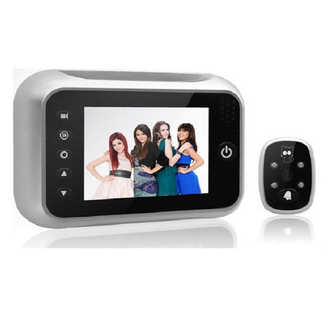 Digital Video door Bell peephole viewer