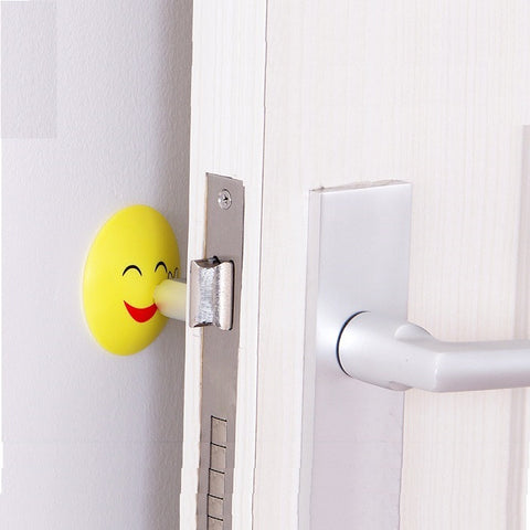 Cartoon Rubber Door Knob Protector Shield