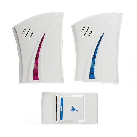 Digital Wireless Doorbell (2 receiver 1 control)