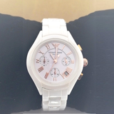 Emporio Armani Ceramic White Gents And Ladies Watch