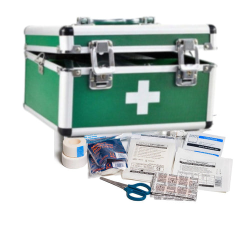 15 Inches Aluminium Alloy First Aid Box(Large)
