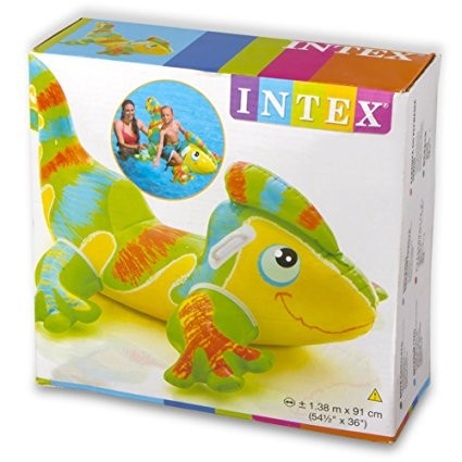 INTEX SMILING GECKO INFLATABLE POOL FLOAT(138CM*91CM)