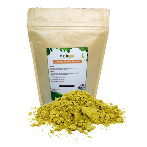 Ginkgo Biloba Leaf Powder (50grams)
