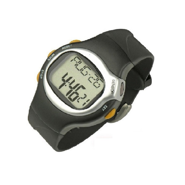 Pedometer/Calorie Counter Heart Monitor Wrist Watch