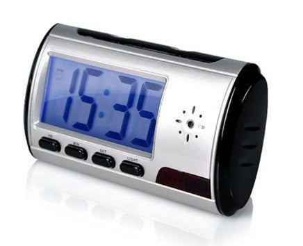 Hidden Clock Camera