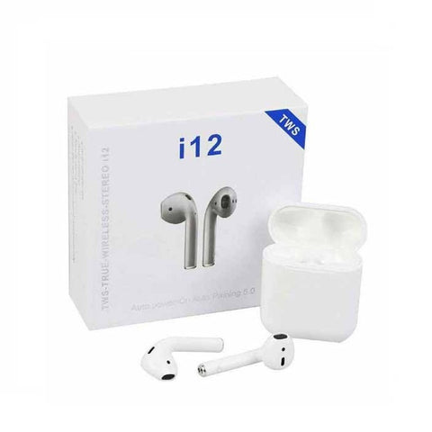 i12 5.0 True Wireless Stereo Blutooth Earphones
