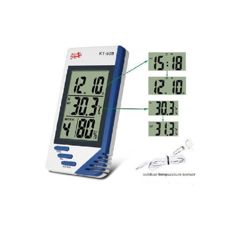 Digital Humidity Temperature Tester /Hygrometer  Clock