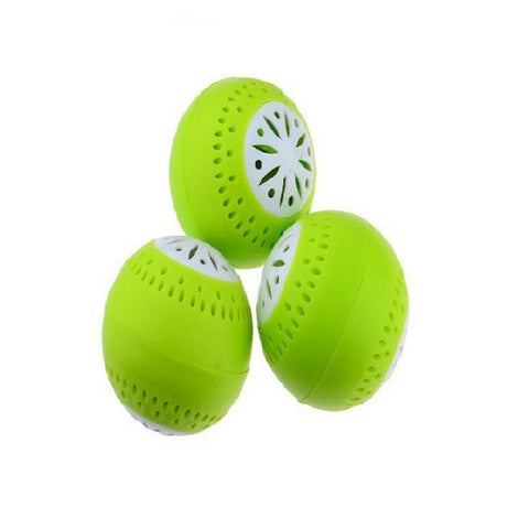 3pieces Air Freshener Fridge Deodorant Balls