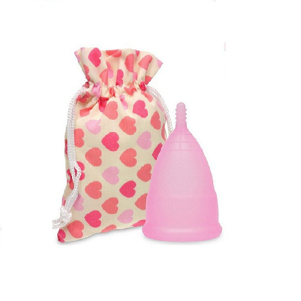 2pieces Silicone Menstrual Cups for Women&Girls