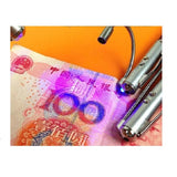 Counterfeit Money detection pen with laser pointer