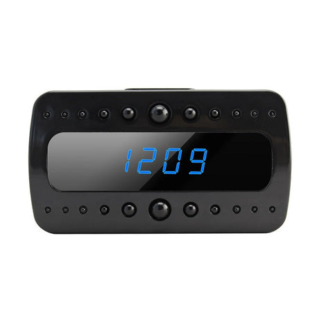 HD Motion Activated Mini Clock Hidden Camera with Night Vision