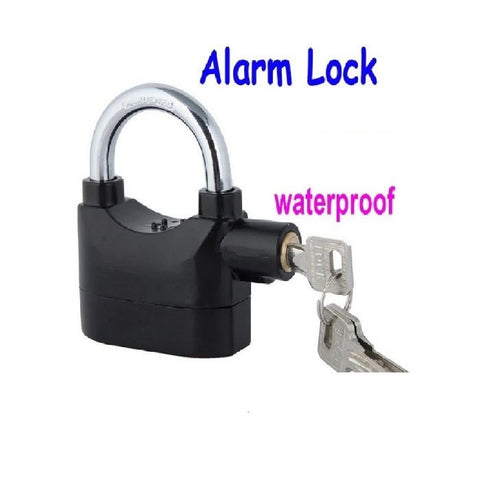 Alarm Security Safety Padlock